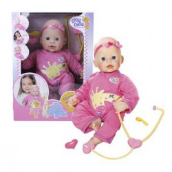 CHOU CHOU chorá bábika 42 cm