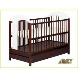 SKLADOM - Detská postieľka RADEK 3 so šuflíkom