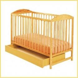 Detská postieľka KUBA 2 so šuflíkom
