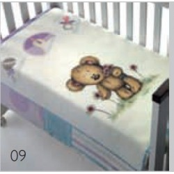 Piccola 80x110 09 lillac fialová deka