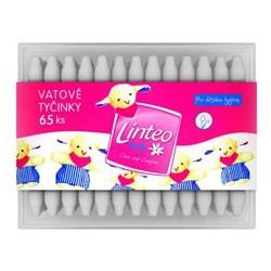Tyčinky vatové LINTEO Baby, 65 ks