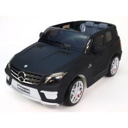 Mercedes ML63 AMG s DO, 12V, kevlarová, čierna - matná