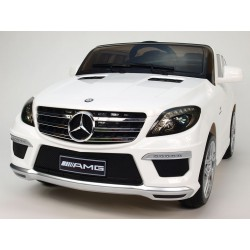 Mercedes ML63 AMG s DO, 12V, biely