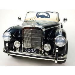 Mercedes-Benz 300S oldtimer s FM rádiem, DO, koženým potahem, pérováním nápravy, 12V