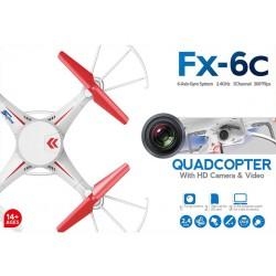 Dron 32 cm s 2 Mpix kamerou, SD kartou, s osvetlením, FX - 6C