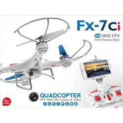 Dron 45 cm s 2 Mpix kamerou s priamym WiFi na mobil, s osvetlením, FX - 7CI,