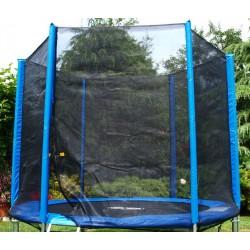 Trampolína 250 cm s ochrannou sieťou, krycou plachtou a rebríkom