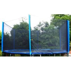 Trampolína 430 cm s ochrannou sieťou, krycou plachtou a rebríkom