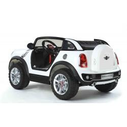 Dvojmiestny MINI Beachcomber - plážové vozidlo s DO, 12V, bely