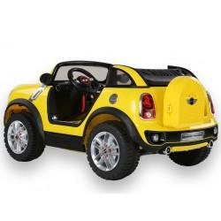 Dvojmiestny MINI Beachcomber - plážové vozidlo s DO, 12V, žltý