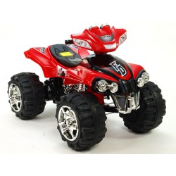 Štvorkolka FD Sport na veľkých kolesách, 4 rychlosti, zvukové efekty, 2xmotor, 12V