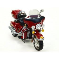 Cestovná motorka Mostly goldwing, 12V, Mp3, voltmeter, 2x motor, vínová