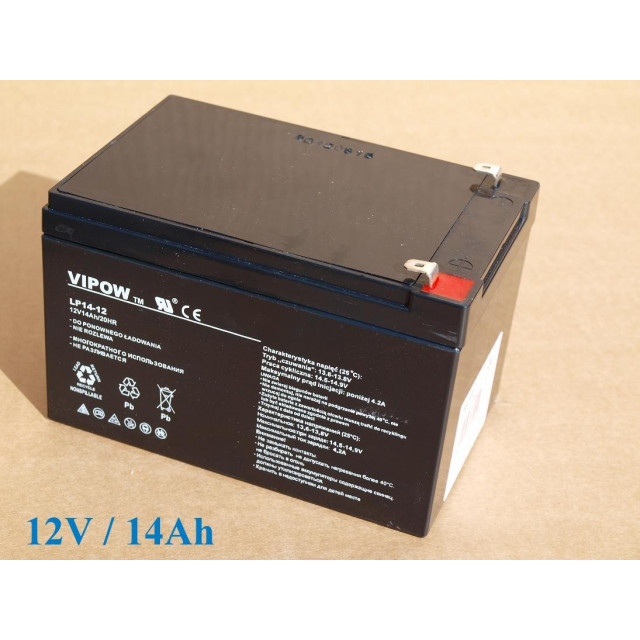 Gelová nabíjecia batéria 12V- 14Ah/ 20HR