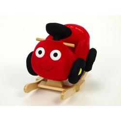Húpacie autíčko červené