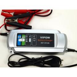 Plno automatická nabíjačka všetkých tipov 6V a 12V baterií s kapacitou 12-150 Ah