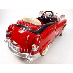 KUBA RETRO s DO, nafukovacími pneumatikami, červený