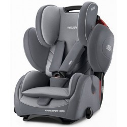 RECARO YOUNG SPORT Hero 2017 Aluminium Grey