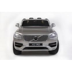 Volvo XC 90 s 2,4G DO, kľúče,Eva kolesá, otváracie dvere,čalunená sedačka,USB,FM,lakované strieborné