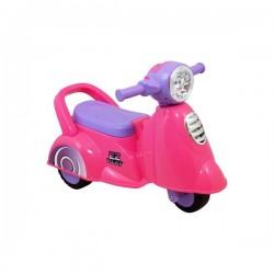 Odrážadlo so zvukom Baby Mix Scooter pink