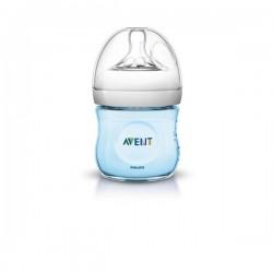 Dojčenská fľaša Avent Natural 125 ml modrá