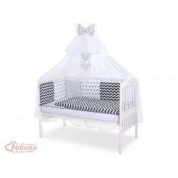 Modulový mantinel s obliečkami a moskytierou