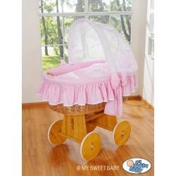Prútený kôš pre bábätko Glamour