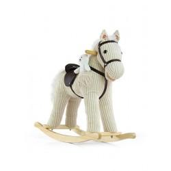 Húpací koník Milly Mally Pony bežový