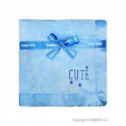 Detská plyšová deka Baby Mix Cute