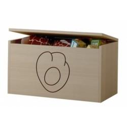 Box na hračky, truhlička Mačičikova tlapka