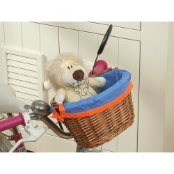 Prútený košík na detský bicyklík