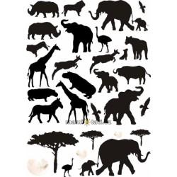 Nástenná dekorácia Afrika