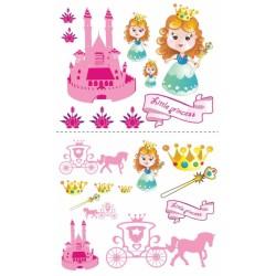 Nástenná dekorácia Malá princezná
