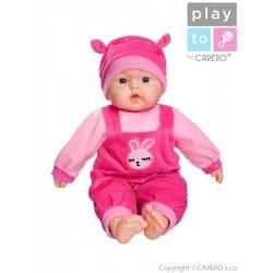 Hovoriaca a spievajúca detská bábika PlayTo Terezka 46 cm