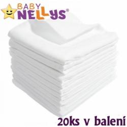 Kvalitné bavlnené plienky Baby Nellys - TETRA LUX 70x80cm, 10ks v bal.