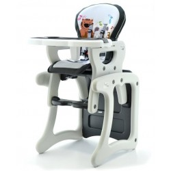 Jedálenská stolička Šedý kocúr