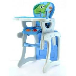 Jedálenská stolička Modrý oceán