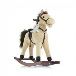 Hojdací koník Milly Mally Mustang bežový