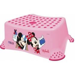 Stolička s protišmykovou funkciou - Minnie - ružová