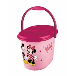 Vedro na plienky Minnie - ružové