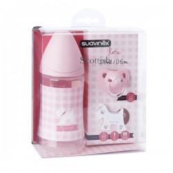 SET SCOTTISH fľašiek 270ml+cumlík 0-6m+KLIP