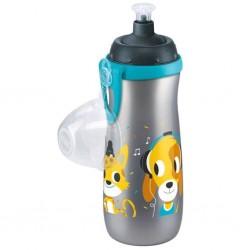 Detská fľaša NUK Sports Cup králiček a mačička 450 ml