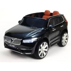 Volvo XC 90 s 2,4G DO, kľúče,Eva kolesá, otváracie dvere,čalunená sedačka,USB,FM,lakované čierne