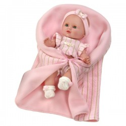 Luxusná detská bábika-bábätko Berbesa Sandra 35cm