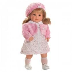 Luxusná hovoriaca detská bábika-dievčatko Berbesa Angelica 45cm