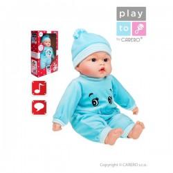 Hovoriaca a spievajúca detská bábika PlayTo Beatka 46 cm