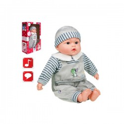 Hovoriaca a spievajúca detská bábika PlayTo Agnieszka 46 cm