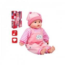 Hovoriaca a spievajúca detská bábika PlayTo Agatka 46 cm