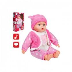Hovoriaca a spievajúca detská bábika PlayTo Marika 46 cm