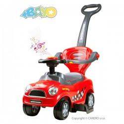 Detské hrajúce odrážadlo 3v1 Bayo Super Coupe