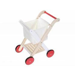 Drevený nákupný vozík ECO TOYS